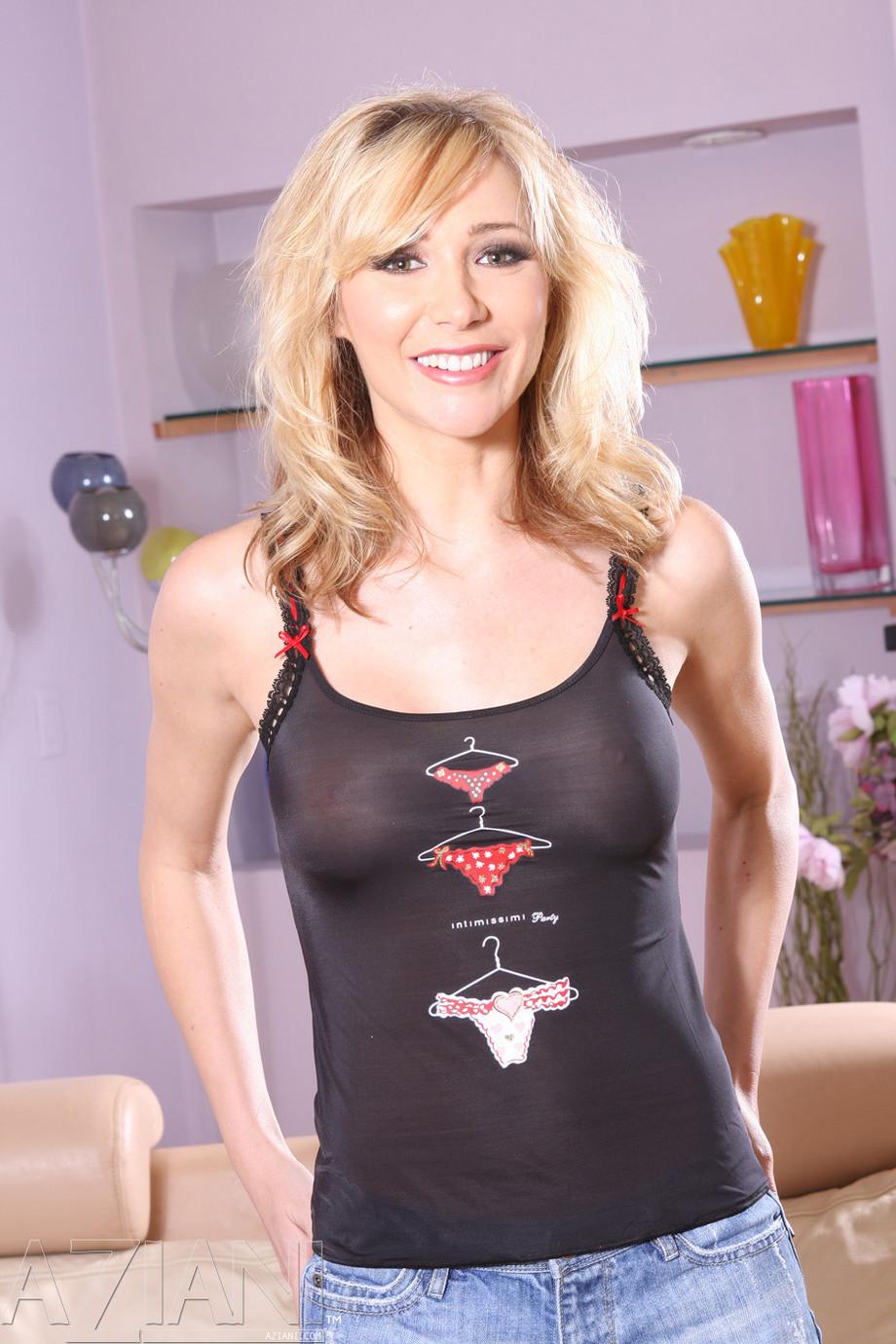 Sabrina Rose Tight See-Through shirt