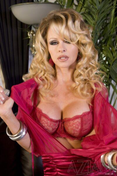 Dyanna Lauren Glamorous in Lingerie